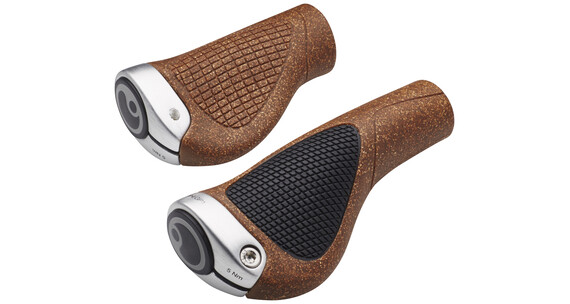 Ergon GP1 BioKork Cykelhåndtag Rohloff/Nexus brun/sort